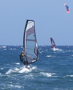 Windsurfing in Tenerife, 03-May-2010